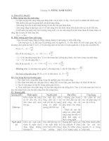 Đề cương ôn tập vật lý 12 phần 2