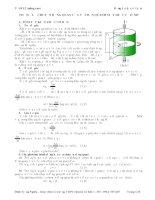Ôn thi vật lý 12 (nâng cao): Động lực học vật rắn