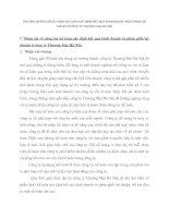 PHƯƠNG HƯỚNG HOÀN THIỆN KẾ TOÁN XÁC ĐỊNH KẾT QUẢ KINH DOANH  PHÂN PHỐI LỢI NHUẬN Ở CÔNG TY THƯƠNG MẠI HÀ NỘI