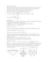 Bài tập và lời giải môn Xác suất có điều kiện