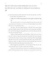 MỘT SỐ Ý KIẾN NHẰM HOÀN THIỆN CÔNG TÁC KẾ TOÁN NGUYÊN VẬT LIỆU TẠI CÔNG TY THIẾT BỊ KỸ THUẬT ĐIỆN HÀ NỘI