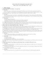 ÔN TẬP NGỮ VĂN 9 HỌC KÌ 1