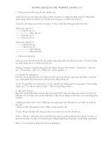 HƯỚNG DẪN QUẢN TRỊ  WEBSITE  JOOMLA 1.5