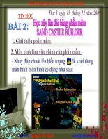 xay lau dai bang phan mem sand cat builder
