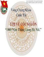 Cuoc thi tim ve coi nguon-Chung khao
