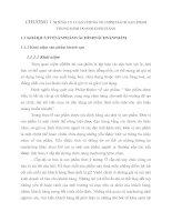 CHƯƠNG 1 NHỮNG LÝ LUẬN CHUNG VỀ CHÍNH SÁCH SẢN PHẨM TRONG KINH DOANH KHÁCH SẠN