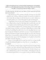 MỘT SỐ Ý KIẾN ĐÓNG GÓP NHẰM HOÀN THIỆN KẾ TOÁN BÁN HÀNG VÀ XÁC ĐỊNH KẾT QUẢ BÁN HÀNG TẠI CÔNG TY CỔ PHẦN TIN HỌC VÀ TRẮC ĐỊA BẢN ĐỒ SÔNG CHÂU