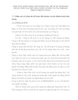 MỘT SỐ Ý KIẾN NHẬN XÉT ĐÁNH GIÁ  ĐỀ XUẤT NHẰM BỔ SUNG CÔNG TÁC KẾ TOÁN TIỀN LƯƠNG VÀ CÁC KHOẢN TRÍCH THEO LƯƠNG