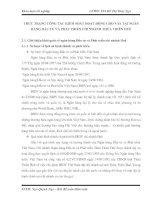 THỰC TRẠNG CÔNG TÁC KIỂM SOÁT HOẠT ĐỘNG CHO VAY TẠI NGÂN HÀNG ĐẦU TƯ VÀ PHÁT TRIỂN CHI NHÁNH THỪA THIÊN HUẾ