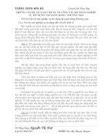 NHỮNG VẤN ĐỀ  LÍ LUẬN CHUNG VỀ CÔNG TÁC KẾ TOÁN NGHIỆP VỤ TÍN DỤNG TẠI NGÂN HÀNG  THƯƠNG MẠI