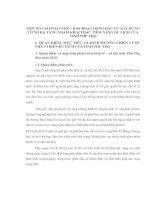 MỘT SỐ GIẢI PHÁP thúc ĐẨY HOẠT ĐỘNG ĐẦU TƯ XÂY DỰNG CƠ SỞ HẠ TẦNG NHẰM KHAI THÁC TIỀM NĂNG DU LỊCH CỦA TỈNH PHÚ THỌ