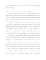 QUY TRÌNH TỔ CHỨC ĐÀM PHÁN, KÝ KẾT VÀ THỰC HIỆN HỢP ĐỒNG GIA CÔNG