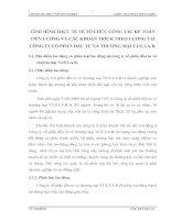 TÌNH HÌNH THỰC TẾ VỀ TỔ CHỨC CÔNG TÁC KẾ TOÁN  TIỀN LƯƠNG VÀ CÁC KHOẢN TRÍCH THEO LƯƠNG TẠI CÔNG TY CỔ PHẦN ĐẦU TƯ VÀ THƯƠNG MẠI V.I.S.T.A.R