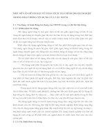 MỘT SỐ VẤN ĐỀ CƠ BẢN VỀ PHÂN TÍCH TÀI CHÍNH DOANH NGHIỆP TRONG HOẠT ĐỘNG TÍN DỤNG CỦA CÁC NHTM