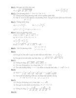 Tài liệu Bài tập nâng cao ĐS 9