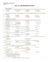 Tài liệu 12 CB UNIT 10 TEST 1