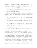 Thực trạng công tác kế toán lưu chuyển hàng hoá và xác định kết quả kinh doanh tại Công ty TNHH Kim Khí Nam Tùng
