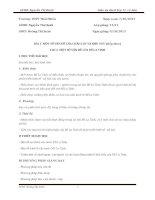 giáo án địa lý 11 - bài 5  một số vấn đề của CHÂU lục và KHU vưcx
