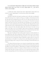 CÁC GIẢI PHÁP NHẰM HOÀN THIỆN KẾ TOÁN HOẠT ĐỘNG NHẬP KHẨU HÀNG HOÁ TẠI CÔNG TY XUẤT NHẬP KHẨU VÀ   XÂY DỰNG NÔNG LÂM NGHIỆP