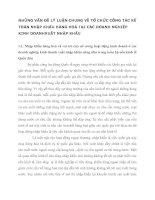NHỮNG VẤN ĐỀ LÝ LUẬN CHUNG VỀ TỔ CHỨC CÔNG TÁC KẾ TOÁN NHẬP KHẨU HÀNG HOÁ TẠI CÁC DOANH NGHIỆP KINH DOANHXUẤT NHẬP KHẨU