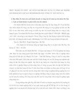 THỰC TRẠNG TỔ CHỨC  KẾ TOÁN CHI PHÍ SẢN XUẤT VÀ TÍNH GIÁ THÀNH SẢN PHẨM XÂY LẮP TẠI CHI NHÁNH HÀ NỘI  CÔNG TY  XÂY DỰNG 18