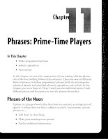 Phrases - Prime-Time Players