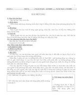 Bài giảng giao an dia li 6