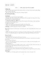 Bài giảng dạy thêm ngữ văn 7