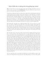 Nên và không nên trong giảng dạy toán( p6)