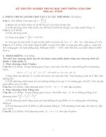 Bài giảng 11 DE THI THU ĐH (CÓ ĐA)