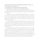 MỘT SỐ VẤN ĐỀ CƠ BẢN VỀ THẨM ĐỊNH TÀI CHÍNH DỰ ÁN ĐẦU TƯ CỦA NGÂN HÀNG THƯƠNG MẠI