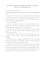 PHÂN TÍCH TÌNH HÌNH TÀI CHÍNH TẠI CÔNG TY CƠ KHÍ XÂY DỰNG VÀ LẮP MÁY ĐIỆN NƯỚC