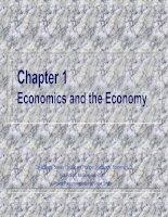 Bài giảng Kinh tế vĩ mô-chương 1