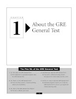 Learning express Acing The Gre_About the GRE General Test