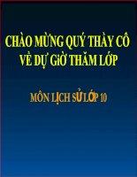 Bài 5: Trung Quốc Thời Phong Kiến