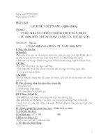 Bài giảng Lich su 8 (T36- T38)