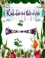 Tài liệu Tiet 19 - Bai 12 SONG VA LAM VIEC CO KE HOACH