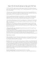 Bài giảng Phong tuc ngay tet ( Y nghia nhat )