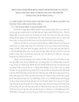 PHÂN TÍCH TÌNH HÌNH HOẠT ĐỘNG KINH DOANH CỦA NGÂN HÀNG THƯƠNG MẠI CỔ PHẦN SÀI GÒN CHI NHÁNH