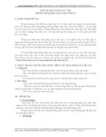 MỘT SỐ BÀI TOÁN CỰC TRỊ TRONG HÌNH HỌC GIẢI TÍCH LỚP 12
