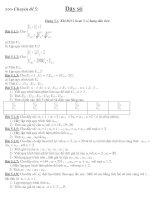 Bài tập Casio:Dãy số (Hay)