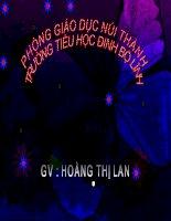 Tài liệu CHÍNH TẢ T/20 TRÊN ĐƯỜNG MÒN HỒ CHÍ MINH