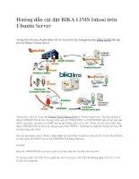 Hướng dẫn cài đặt BIKA LIMS Inkosi trên Ubuntu Server