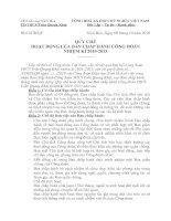 Bài giảng Quy chế Ban chấp hành