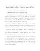 THỰC TRẠNG CÔNG TÁC QUẢN LÝ THUẾ GTGT ĐỐI VỚI DN NQD KINH DOANH KHÁCH SẠN NHÀ NGHỈ TRÊN ĐỊA BÀN TỈNH QUẢNG NINH