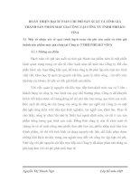 HOÀN THIỆN HẠCH TOÁN CHI PHÍ SẢN XUẤT VÀ TÍNH GIÁ THÀNH SẢN PHẨM MAY GIA CÔNG TẠI CÔNG TY TNHH PHILKO VINA