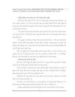 THỰC TRẠNG KẾ TOÁN VỐN BẰNG TIỀN VÀ CÁC KHOẢN THANH TOÁN CỦA CÔNG TY CỔ PHẦN KHÍ CÔNG NGHIỆP VIỆT NAM