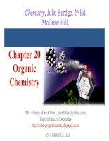 Bài soạn Chapter 20 Organic Chemistry