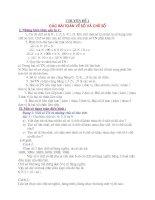 Bài giảng Bài  toán về phân số - toán 6