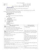 bài 15: làm đất và bón phân lót
